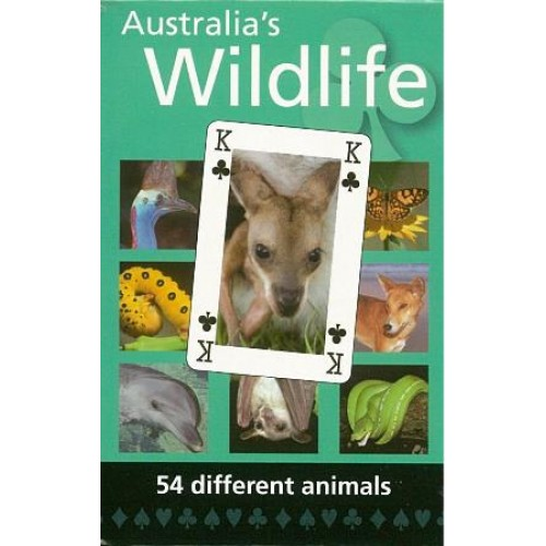 Hema Maps - Wildlife Playing Cards