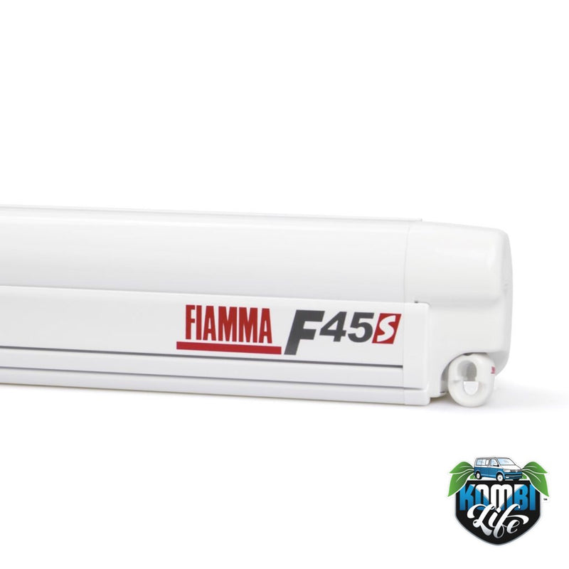 Fiamma F45s 2.3m wind-out Cassette Awning and Brackets for Caddy and Caddy Maxi