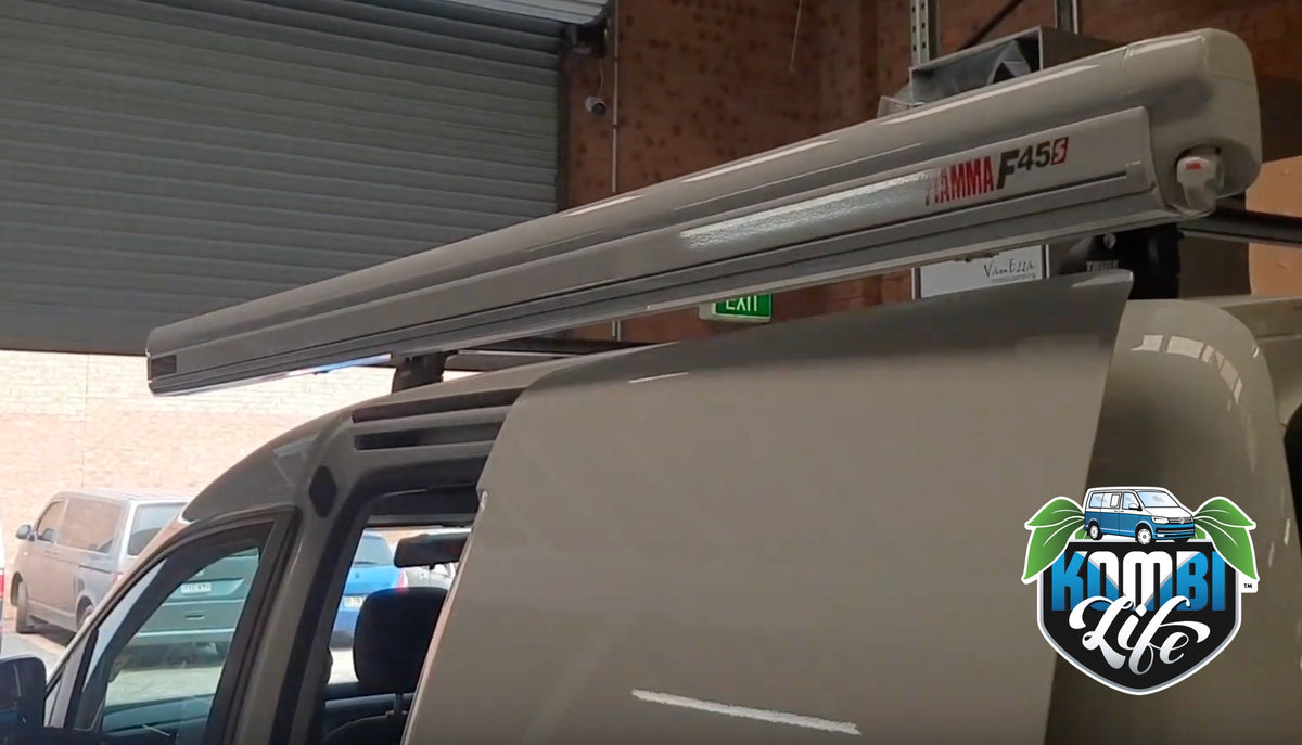 Fiamma F45s 2.3m wind-out Cassette Awning and Brackets for ...