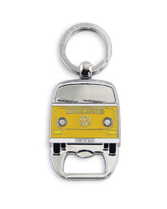 VW T2 Bus Keyring with Bottle Opener in Clister Packaging - Orange (D)