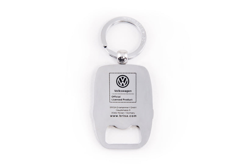 VW T3 Bus Key Ring with Bottle Opener in Blister Packaging - Blue