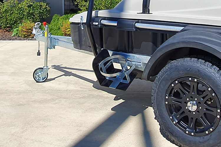 TrailMaster Trailer Gas Bottle Holder