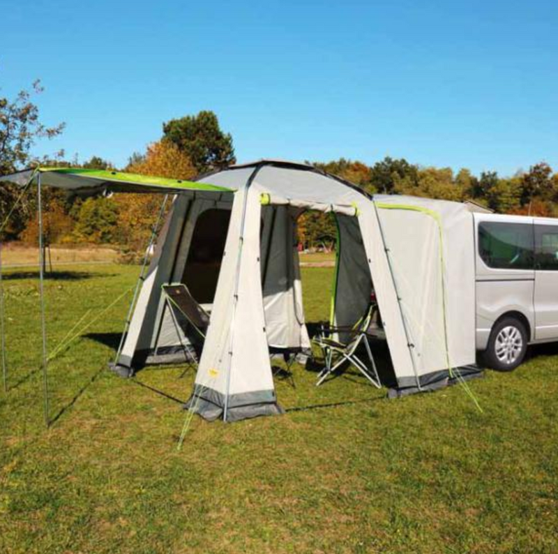 VW Rear Tailgate Tent - Self Standing Tent with vestibule