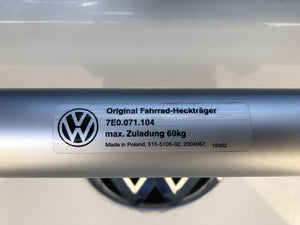 Original T6 Bike Rack from VW - 4 bikes - Genuine Volkswagen 7E0.071.104