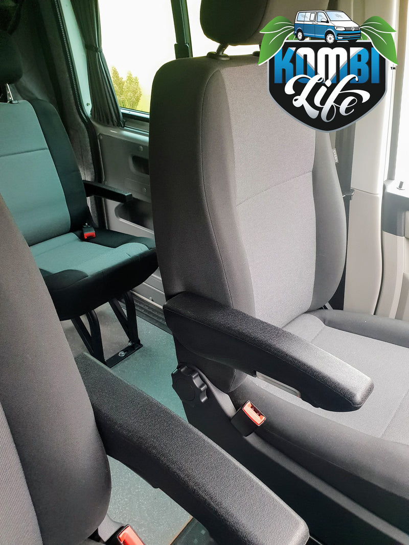 Armrests for VW Transporter or Caravelle Seats - PAIR