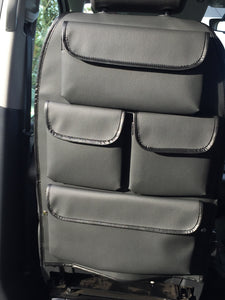 VW T5 & T6 Seat Utility Bag Deluxe - 4 pockets  - Anthracite