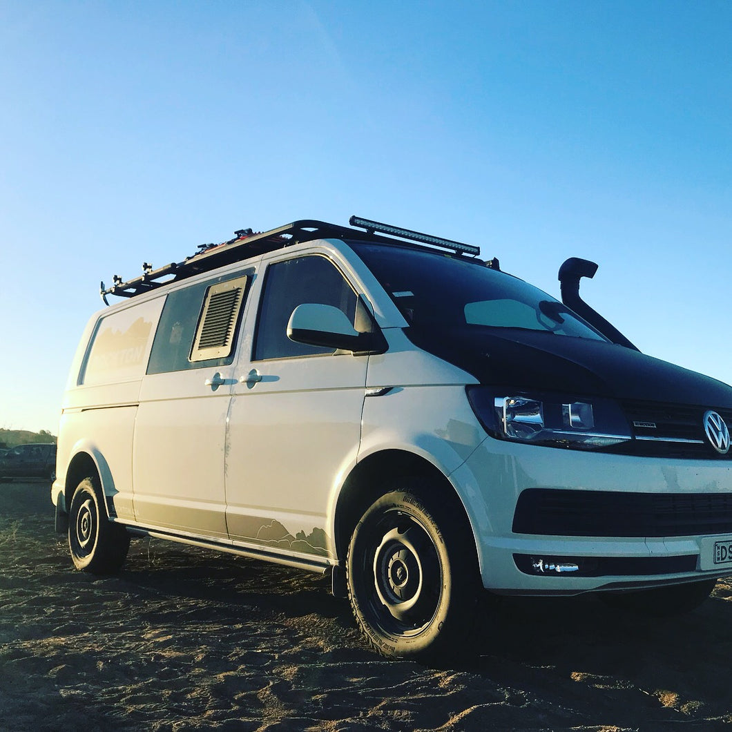 VW T5/T6 RockSlider LWB Side Sill Protection by Seikel GmBH