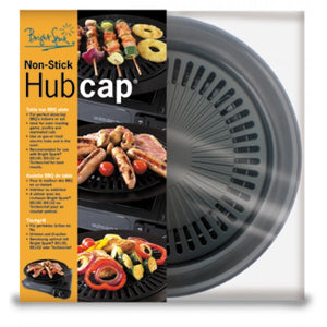 Bright Spark Non Stick Hub Cap BBQ Plate for camping stoves