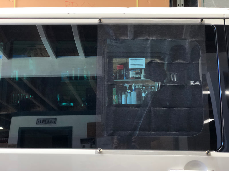 Insect Screen for Side Window including 4 magnets VW T5, T6  Multivan, Transporter and Caravelle
