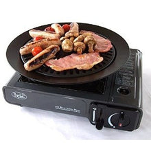 Load image into Gallery viewer, Bright Spark Non Stick Hub Cap BBQ Plate for camping stoves