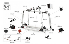 Load image into Gallery viewer, Fiamma T5 Pro Bike Rack 2003-2015 (Tailgate Only) 2 bikes / 4 max