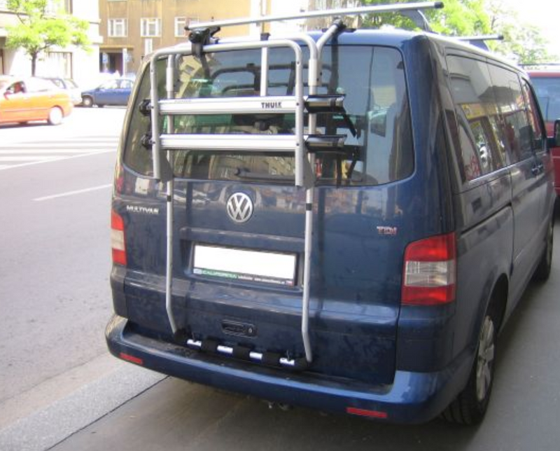 Thule Bike Rack for Volkswagen T5/T6 Transporter / Multivan / Caravelle - 2 bikes