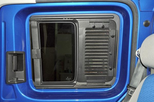 Ventilation Grill Sliding Window Caddy Driver's Side