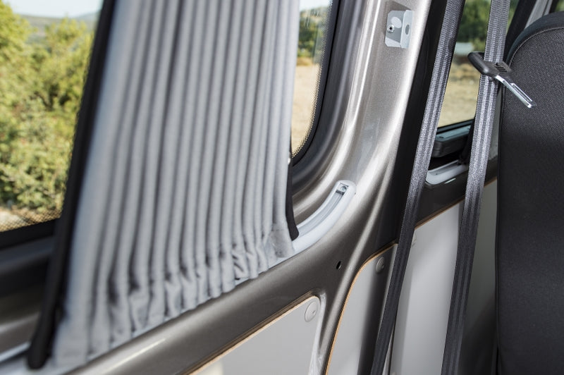 Transporter 5pc Curtain Set (LWB) - 2 x Sliding Doors + Rear Windows + Tailgate - Block Out Style