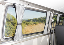 Load image into Gallery viewer, Transporter 5pc Curtain Set (LWB) - 2 x Sliding Doors + Rear Windows + Tailgate - Block Out Style