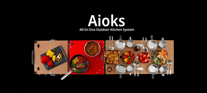 iKamper - AIOKS All In One Camp Kitchen