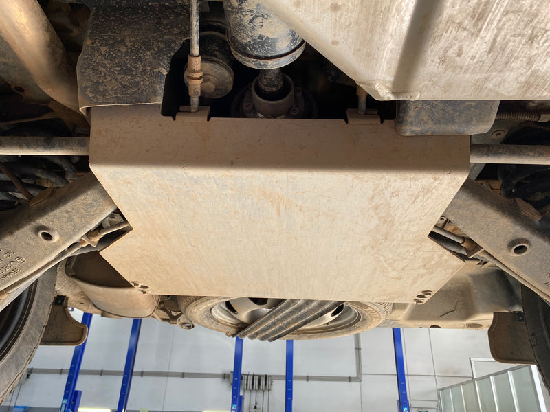 Seikel VW T5/T6  Rear Differential Underbody Protection for vehicles with lift kit