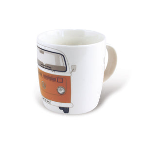 VW T2 Bus Coffee Mug 370ml In Gift Box - Orange