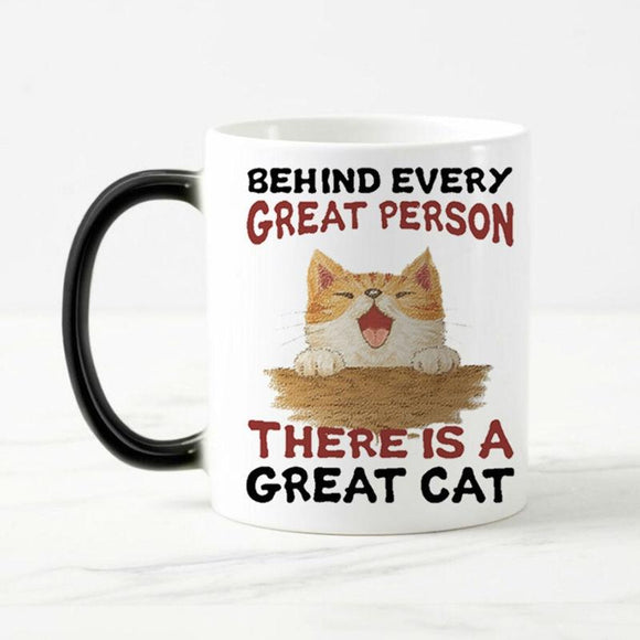 Behind Every Great Person Mug