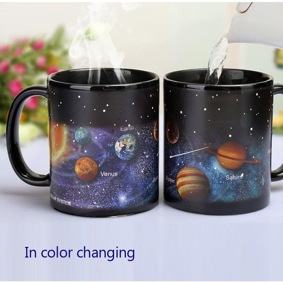 Solar System Color Changing Coffee Mug
