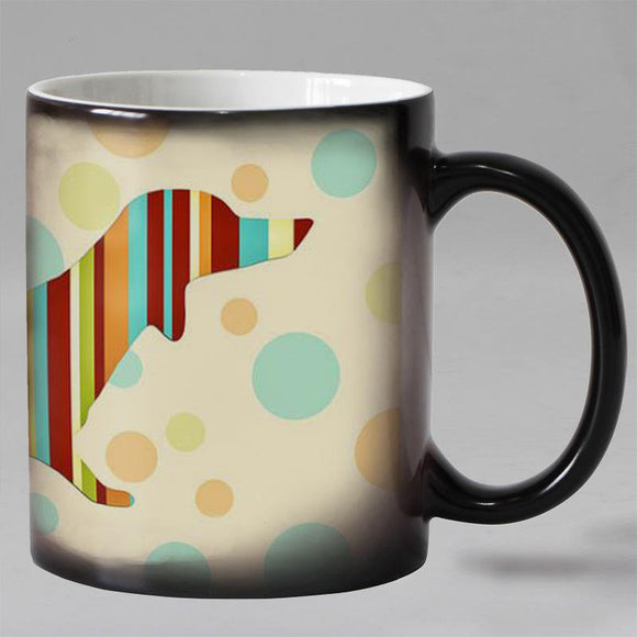 Cozy Dog Color Changing Coffee Mug