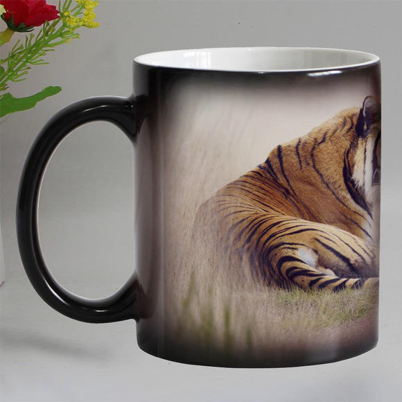 Tiger Heat Sensitive Coffee Mug