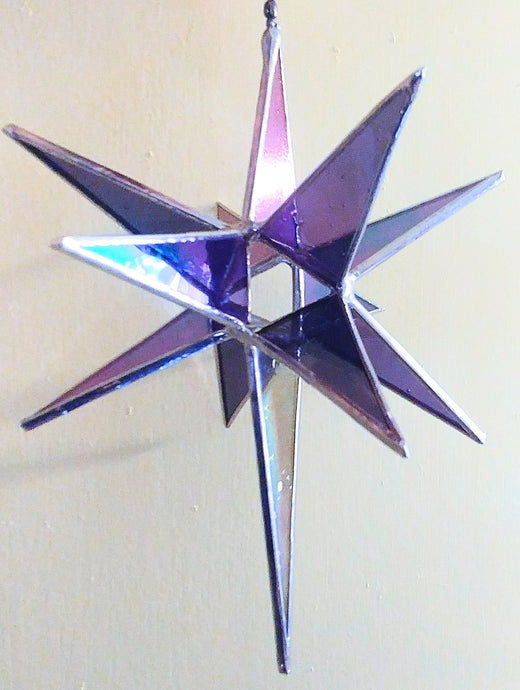 Stained Glass 1-day workshop Moravian Star