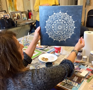Creative Saturdays Mandalas with Pat
