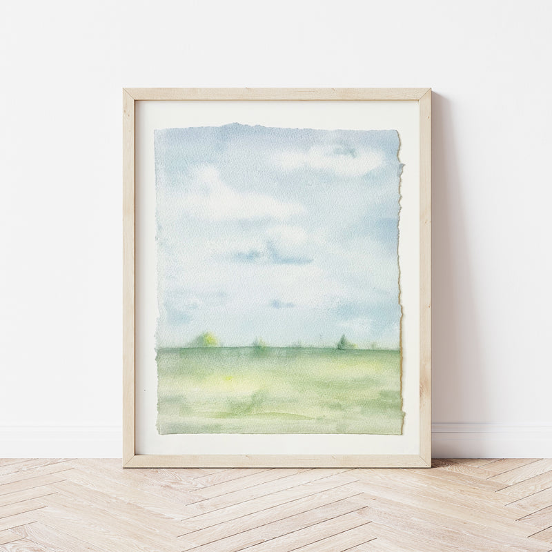 """Lottie-Mae"" • Wide Open Spaces • 8x10"