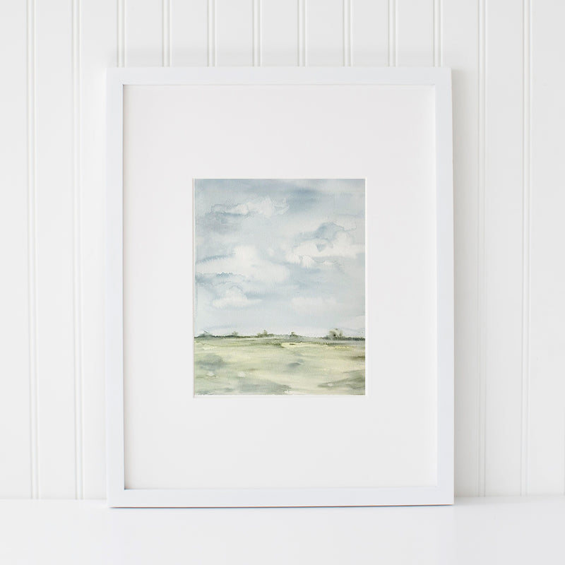 """Anna-Mae"" Print • Wide Open Spaces Series"