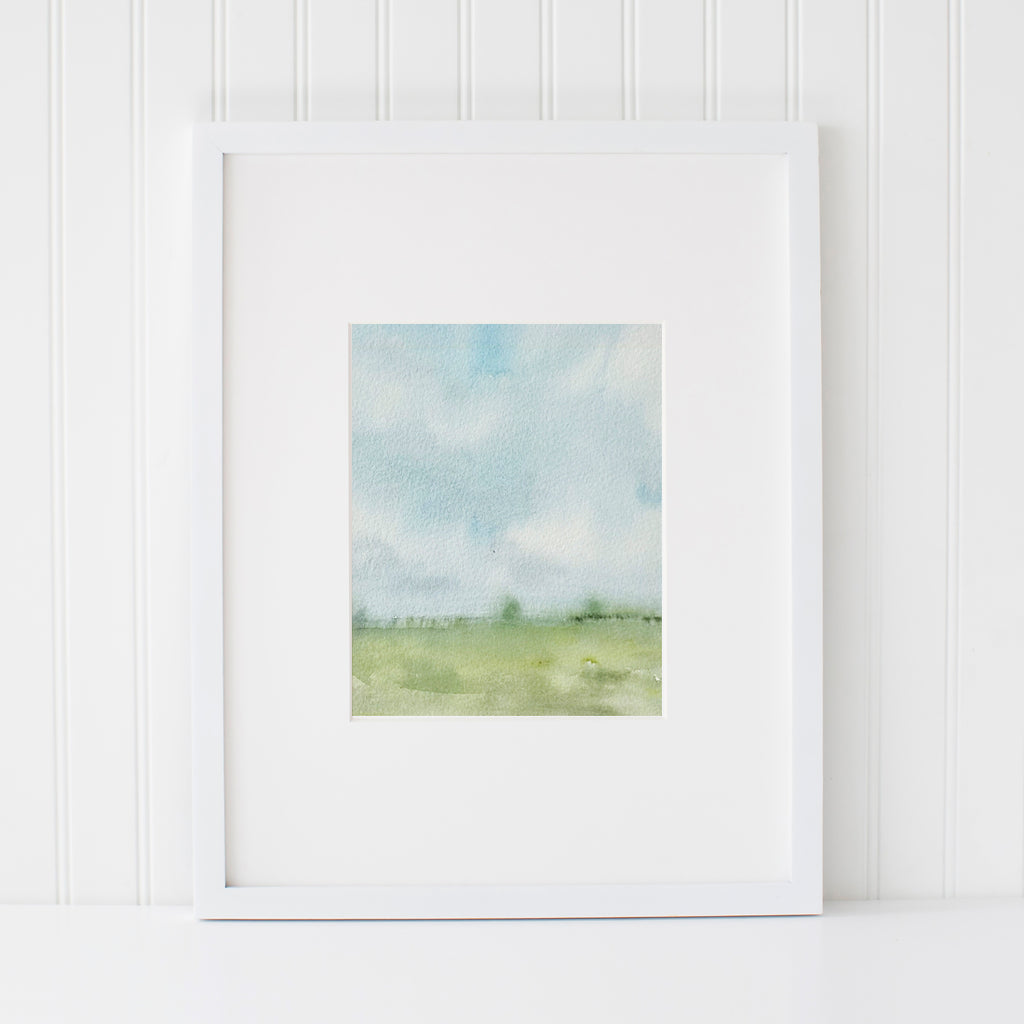 """Millie-Mae"" Print • Wide Open Spaces Series"