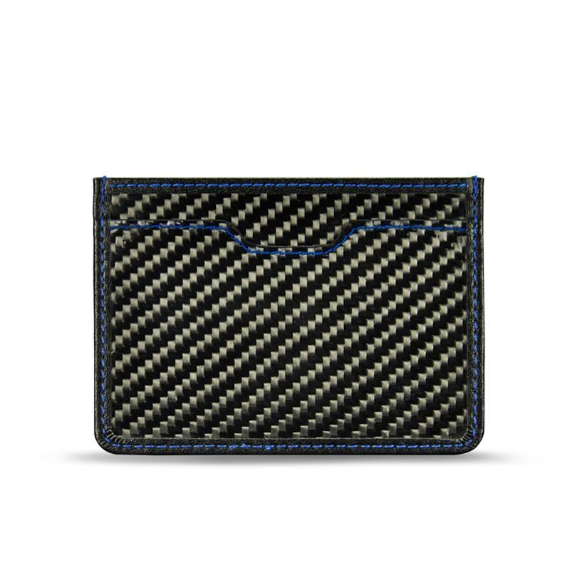 Carbofy® Creditcard Holder Real Carbon Fiber/Genuine Leather