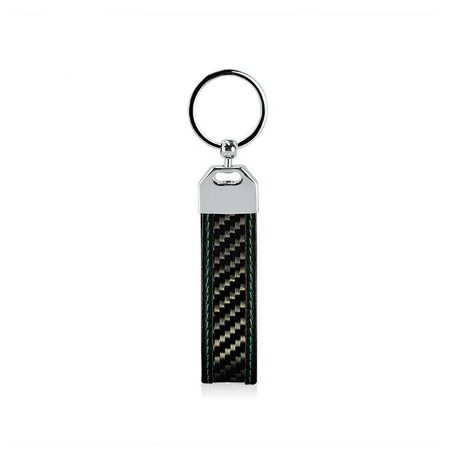 Carbofy@ 2018 Flexible Real Carbon Fiber Key Chain.