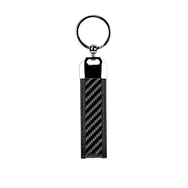 Carbofy® 2018 Fashion Real Carbon Fiber Flexible Car Key Chain