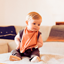 Load image into Gallery viewer, Sustainable Baby Bib - 2 Pack Eco-friendly organic cotton baby bibs