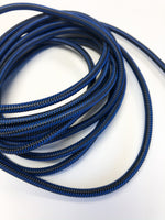 10ft Phone Cord - Black/Blue