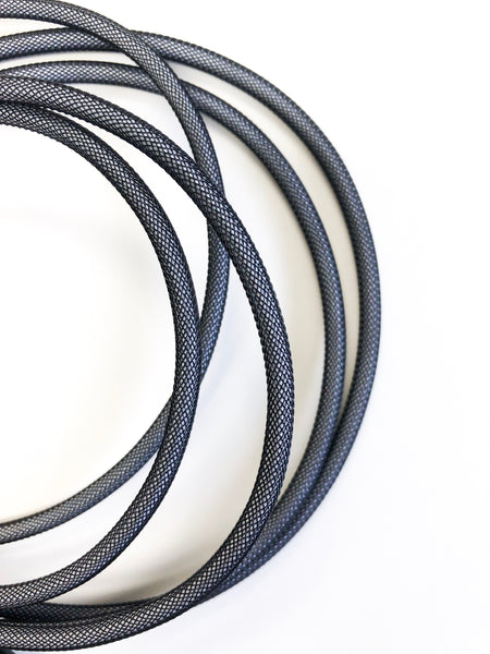 10ft Phone Cord - Black/Gray