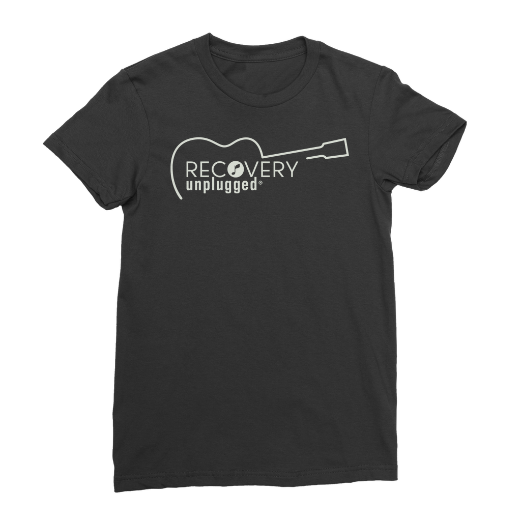 Recovery unplugged Natural Logo Premium Jersey Women's T-Shirt