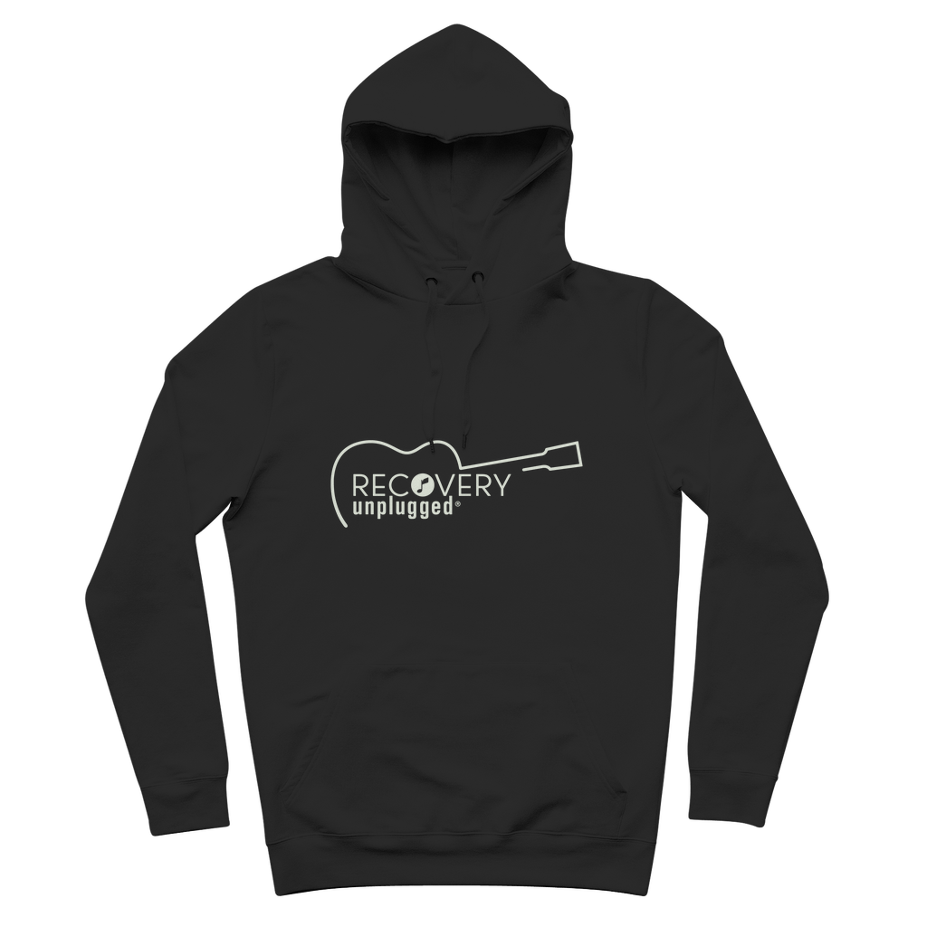 Recovery unplugged Natural Logo Premium Adult Hoodie