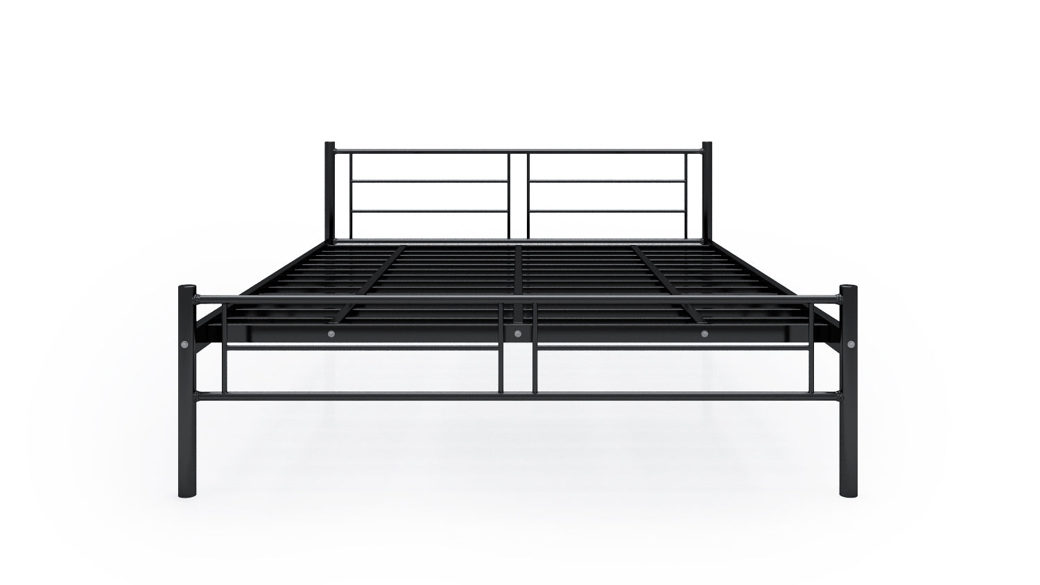 ff0fe7bd8a6c Buy Eric Metal Queen Bed in India