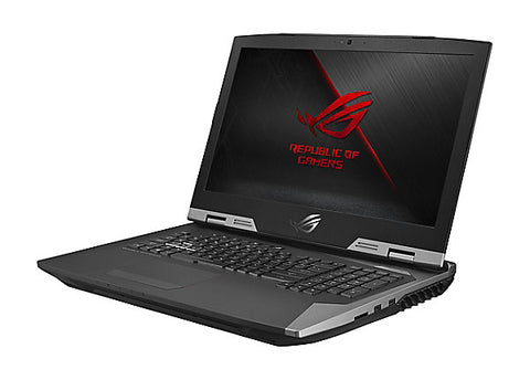 ASUS Computer International ROG G703VI-XH74K Gaming Laptop, 17.3-inch 144Hz G-SYNC, Overclocked Core i7 CPU and GTX 1080 8GB, 32GB DDR4, 512GB PCIe SSD + 1TB SSHD
