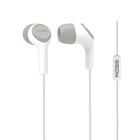 Koss Corporation  In Ear Bud with Mic Wht