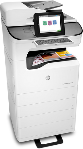 HP E77650zs PageWide Managed Color Flow MFP