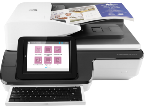 HP ScanJet Enterprise Flow N9120 fn2 Document Flatbed Scanner