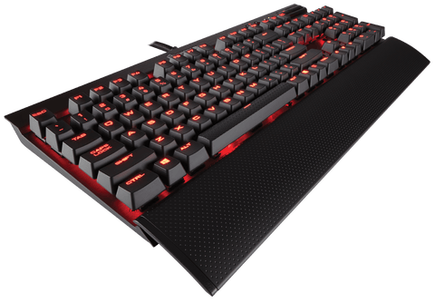 Corsair K70 LUX Mechanical Gaming Keyboard - Red LED -Cherry MX Blue