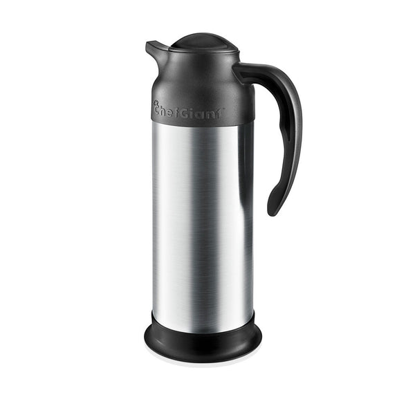 33 OZ Stainless Steel Thermal Hot-Cold Carafe / Double Walled Thermos / 10 Hour Heat Retention