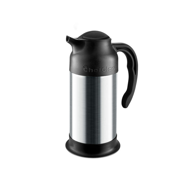 24 OZ Stainless Steel Thermal Hot-Cold Carafe / Double Walled Thermos / 10 Hour Heat Retention