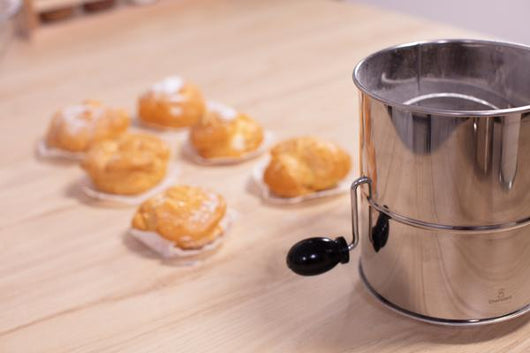 Stainless Steel All-Purpose 5 Cup Rotary Sifter
