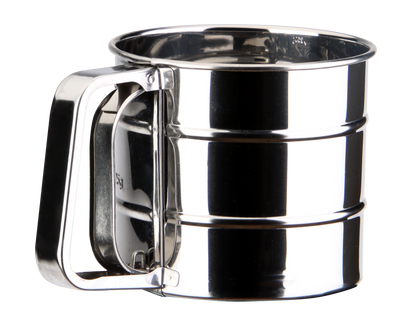 Semi-Automatic 2.5 Cup Compact Sifter