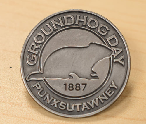 Groundhog Day Pin